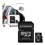 Memoria Kingston MicroSd 32GB Clase 10 100Mbs Canvas Plus